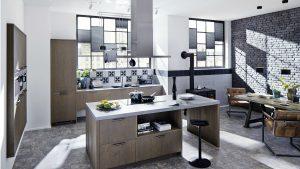 keuken wit eiken